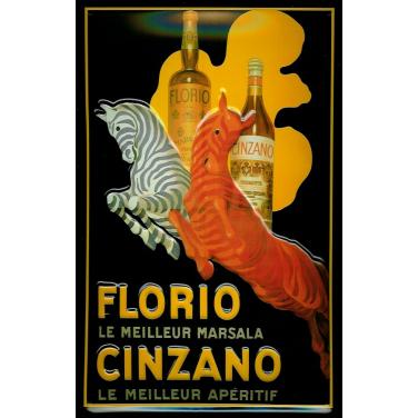 Cinzano Florio -(20x30cm)
