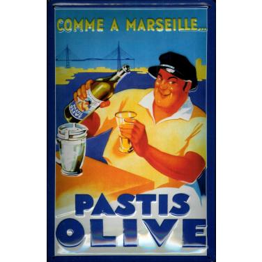 Pastis Olive -(20 x 30cm)