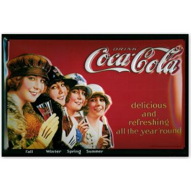 Coca-Cola 4 Seasons-(20x30cm)