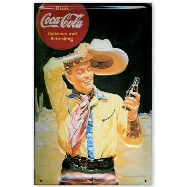 Coca-Cola Cowboy-(20x30cm)