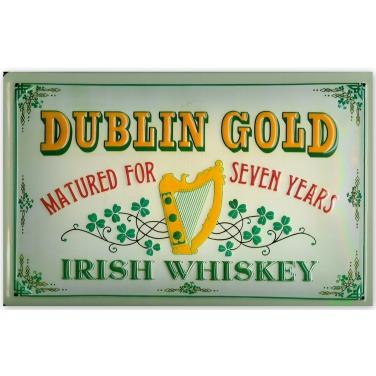 Dublin Gold- Irish whiskey-(20x30cm)