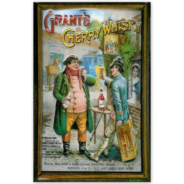 Grant's Cherry Whisky-(20x30cm)