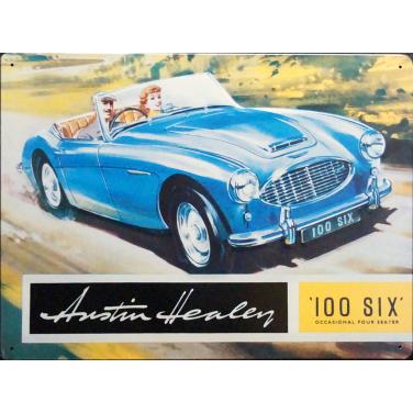 Austin Healey - ami flat-(30x40cm)