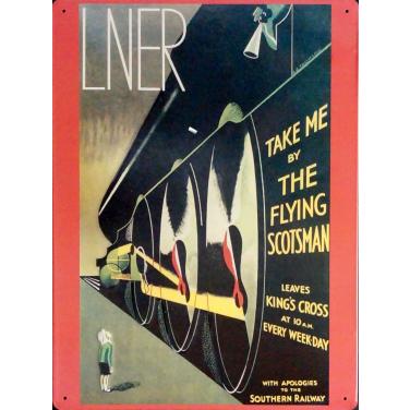 LNER - ami flat-(30x40cm)