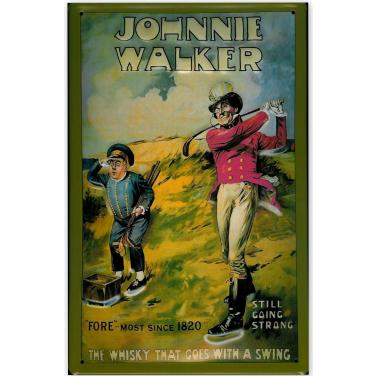 Johnnie Walker Golfer-(20x30cm)