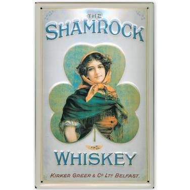 The Shamrock Whiskey-(20x30cm)