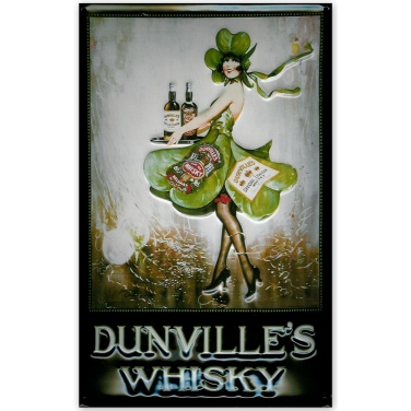 Dunville's Whiskey -(20x30cm)
