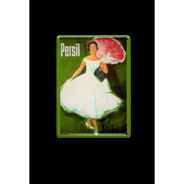 Persil Lady with umbrella-(8x11cm)