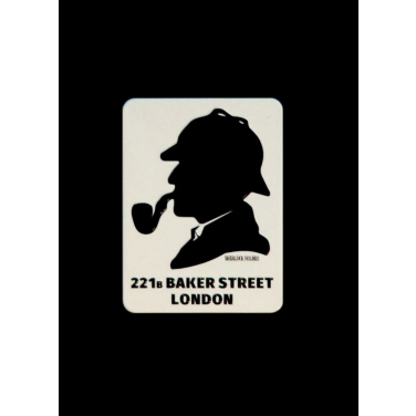 Sherlock Holmes-(6x8cm)Magnet