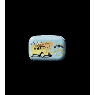Citroen 2 CV -(5x3,5x2cm)Pill Box