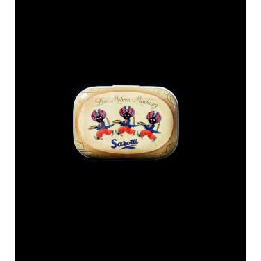 Sarotti - Drei Mohren-(5x3,5x2cm)Pill Box