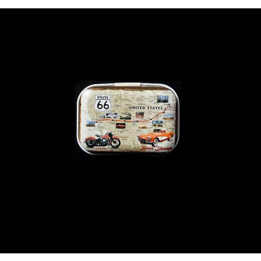 Sixties Lifestyle -(5x3,5x2cm)-Pill Box