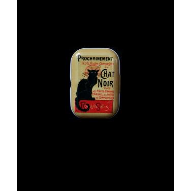 Chat Noir -(5x3,5x2cm)Pill Box