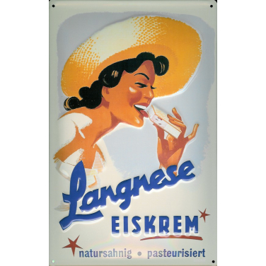 Langnese Eiskrem -(20 x 30cm)