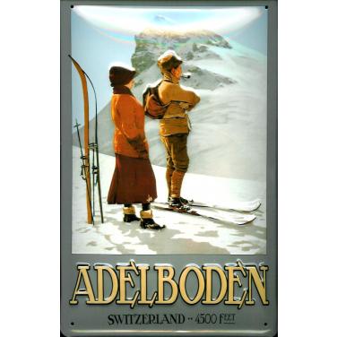 Adelboden Switzerland -(20 x 30cm)