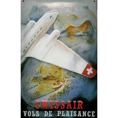 Swissair -(20 x 30cm)