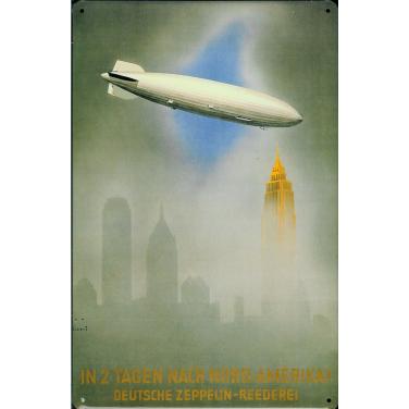 Deutsche Zeppelin-Reederei -(20 x 30cm)