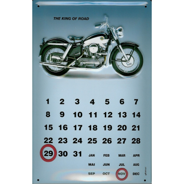 The King of Road -Kalender -(20 x 30cm)
