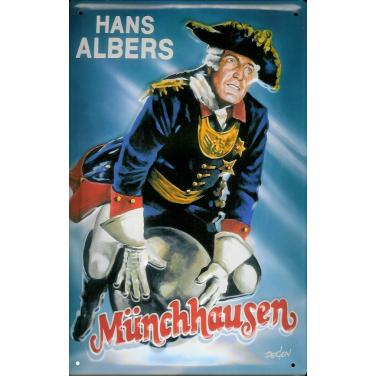 Hans Albers Münchhausen-(20 x 30cm)