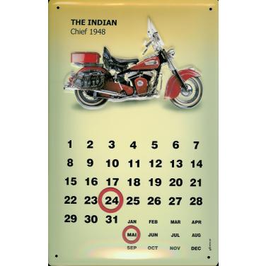 Indian Chief -Kalender -(20 x 30cm)