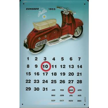 Zündapp Bella 1955-Kalender-(20 x 30cm)