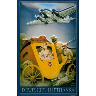 Deutsche Lufthansa  -(20 x 30cm)