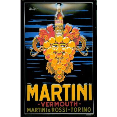 Martini&Rossi  - Bunch of grapes-(20x30cm)