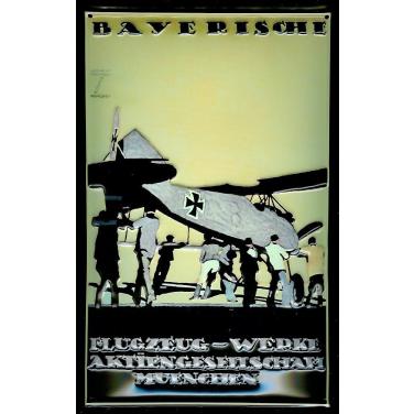 Bayerische Flugzeug-Werke-(20 x 30cm)