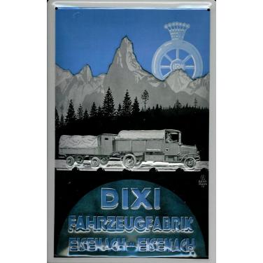 Dixi - Fahrzeugfabrik  -(20 x 30cm)