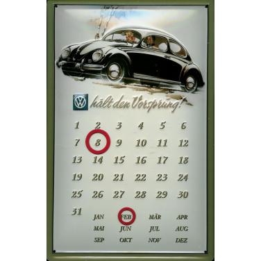 VW. hält den Vorsprung- Kalender-(20 x 30cm)
