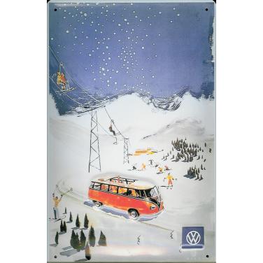VW. Berge Bus-(20 x 30cm)