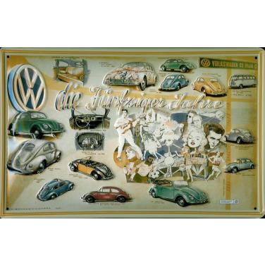 VW- die fünfziger Jahre-(20x30cm)