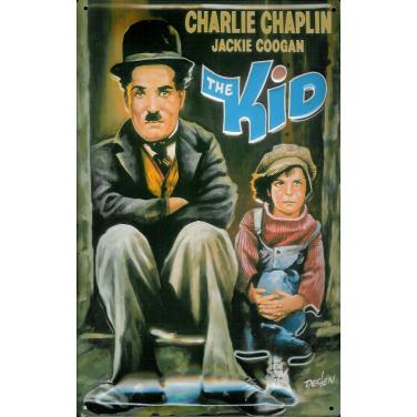 Charly Chaplin- The Kid-(20 x 30cm)
