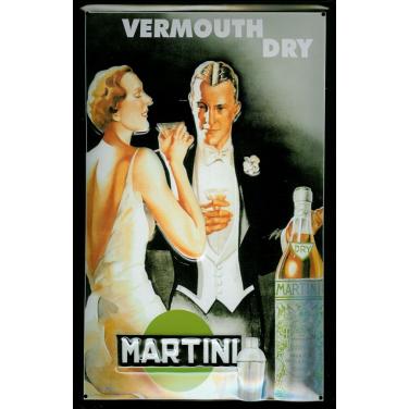 Martini Vermouth Dry -(20x30cm)