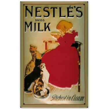Nestle's Swiss Milk -(20x30cm)