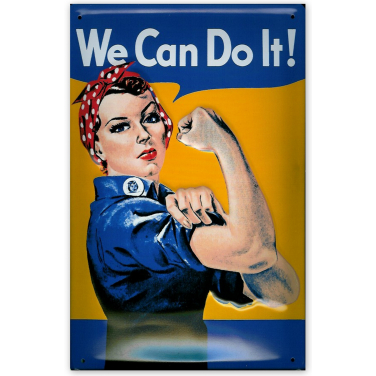 We can do it-(20 x 30cm)