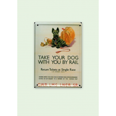 Take your dog-(8 x 11cm)