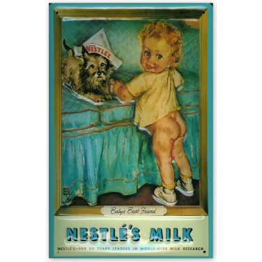 Nestle Kind -(20x30cm)
