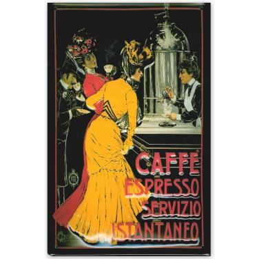 Cafe Espresso Servizio-(20x30cm)