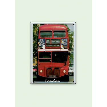 London Bus-(8 x 11cm)