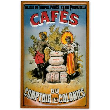 Cafes du comptoir -(20x30cm)
