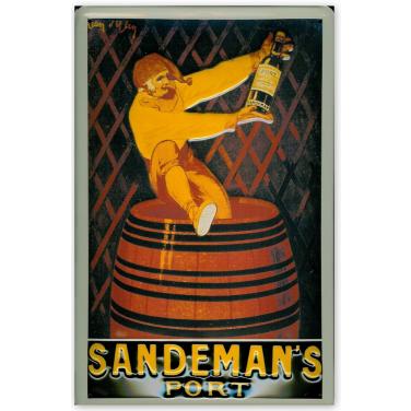 Sandeman's Port -(20x30cm)