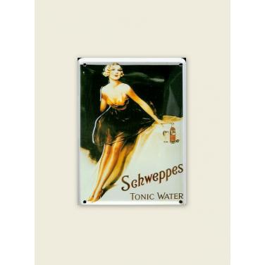 Schweppes Tonic water -(8 x 11cm)