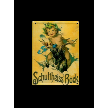 Schultheiss'Bock -(8x11cm)