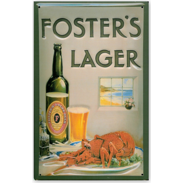 Foster's Larger - lobster-(20x30cm)