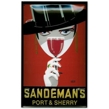 Sandemann- Woman with glass-(20x30cm)