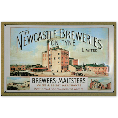 The Newcastle Breweries-(20x30cm)