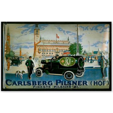 Carlsberg Pilsner (HOF)-(20x30cm)