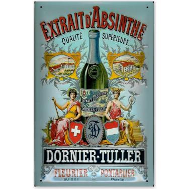 Extrait D' Absinthe-(20x30cm)