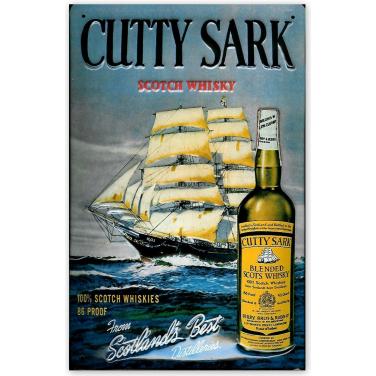 Cutty Sark Scotch Whiskey-(20x30cm)